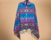 Woven Southwest Shawl -Cape Style