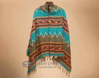 Woven Southwestern Style Shawl