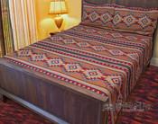 Southwestern Tapestry Bedspread & Shams -Luna