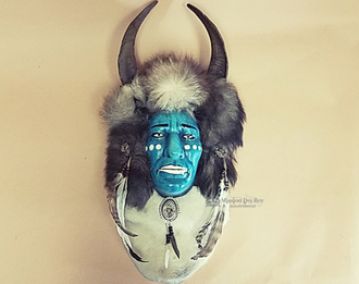 Wall Hanging Mask- Tarahumara