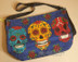 Day of the Dead Purse - Skulls
