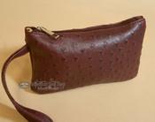 Southwestern Faux Leather Writlet Purse