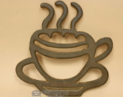 Southwestern Rustic Metal Art- Hot Coffee Mug