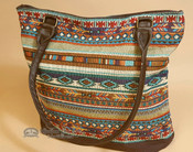 Southwestern Hand Woven Purse - Multicolor