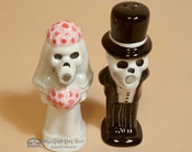 Southwestern Salt & Pepper Shakers - Bride and Groom