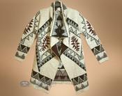 Southwestern Cream Color Sweater - Extra Large