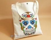 Southwestern Day of the Dead Bag -Sugar Skull