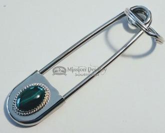 """American Indian Navajo Safety Pin Key Fob 4"""""""