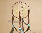 3D Native American Dreamcatcher - Wine