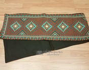 Southwestern tapestry woven table runner -Becenti