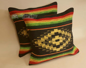 Pair Rustic Southwest Style Pillow Covers