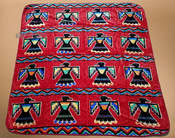Luxury Plush Southwest Design Blanket -Thunderbird