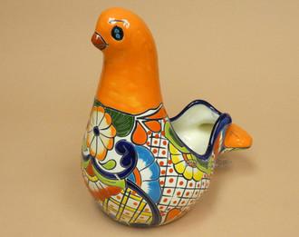 Hand Painted Talavera Bird