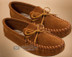 Men's Leather Laced Moccasins -Size9