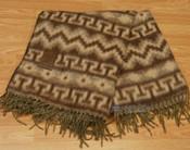 Woven Genuine Alpaca Blanket