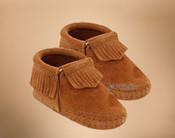Fringed Infant Bootie Moccasins