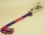 Creek Indian Deer Bone Medicine Stick -Eagle