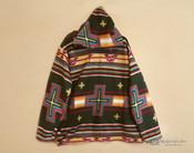 Southwestern Fleece Pullover Hoodie