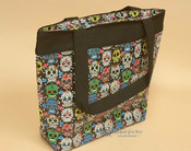 Southwestern Day of the Dead Bag -Sugar Skull Tote