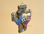 Western Style Christmas Ornament - Texas