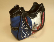 Western Messenger Purse -Texas Star