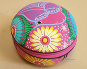 2 piece Hand Painted Southwestern Jewelry Box