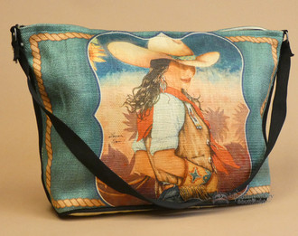 Cowgirl Western Art Purse -Charlie