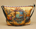 Southwestern Native Art Purse -Kachinas