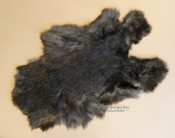 Soft Natural Rabbit Pelt