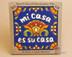 Southwest Mexican Tile -Mi Casa Es Su Casa, Blue