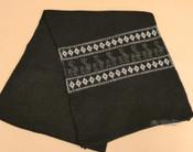 Soft Alpaca Scarf - Black
