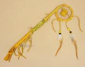 Native American Navajo Dreamcatcher Coup Stick