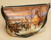 Western Native Art Purse - Camp