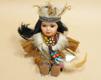 Little Cub Designer Indian Collector Doll