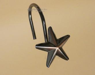 Western Star Shower Curtain Hook