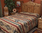 Southwestern Bedspreads, Blankets & Throws