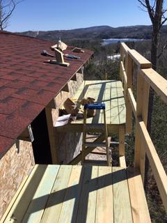 1.55kW Tilt Mount Installation Site