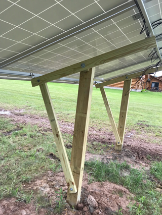 10.35kW Ground Mount System