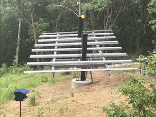 10kW Adjustable Tilt Mount System