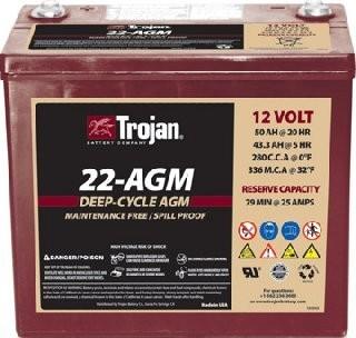 Trojan Battery 22-AGM