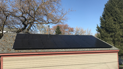 4.96kW Roof Mount System