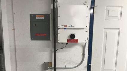 4.96kW Roof Mount System Inverter