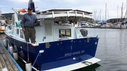 915w Off Grid Boat System