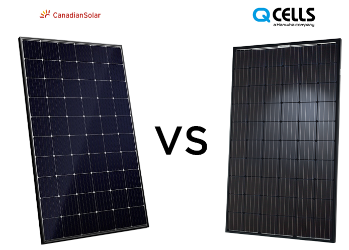 Canadian Solar vs Hanwaha Q Cells