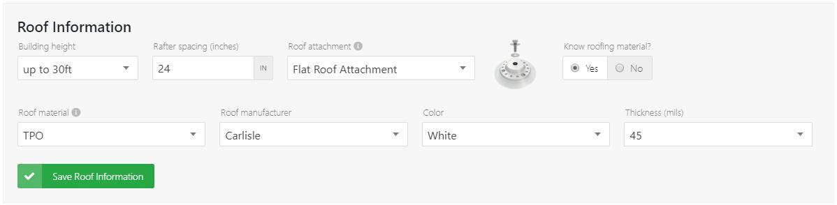 IronRidge Flat Roof Information Section