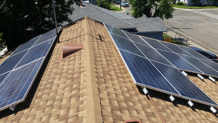 Dual Roof Canadian Solar
