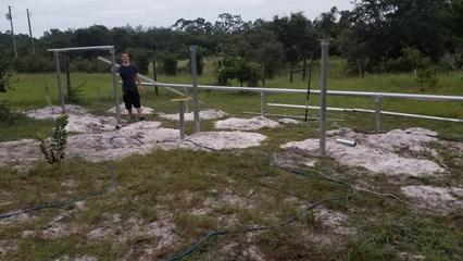 9kW Ground Mount Installation