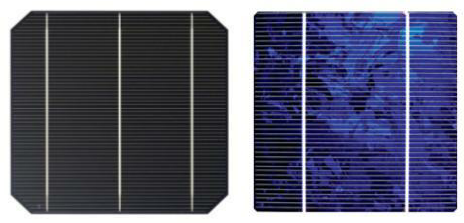 Mono and Poly Solar Cells