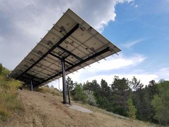 MT Solar Adjustable Tilt Mount