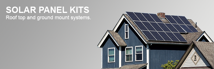Solar Panel Kits - Residential and Commercial